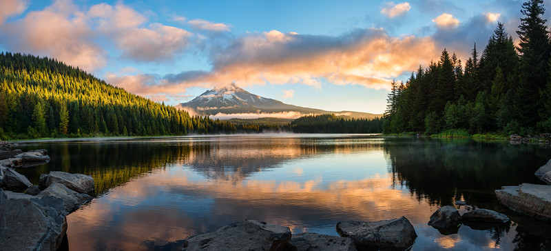 Trillium Lake Sunrise -  Mt Hood, Oregon