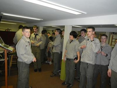 Troop Meeting - Nov 18