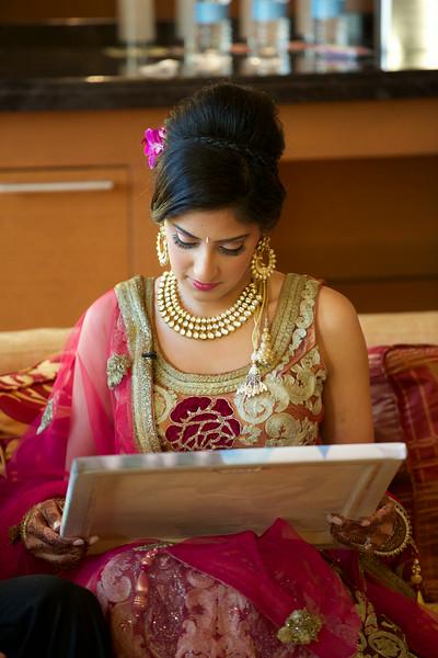 Le Cape Weddings - Indian Wedding - Day 4 - Megan and Karthik Exchanging Gifts 15.jpg