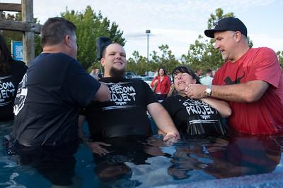 All Church Baptism(Center Pool) - Sept 29, 2013