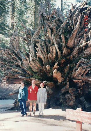 4/9~4/13, 1996 - Yosemite Outing