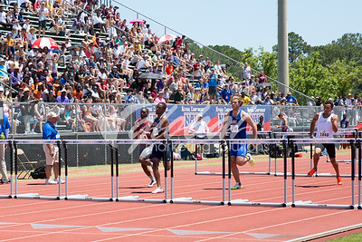 Men's 100m Hurdles Trials