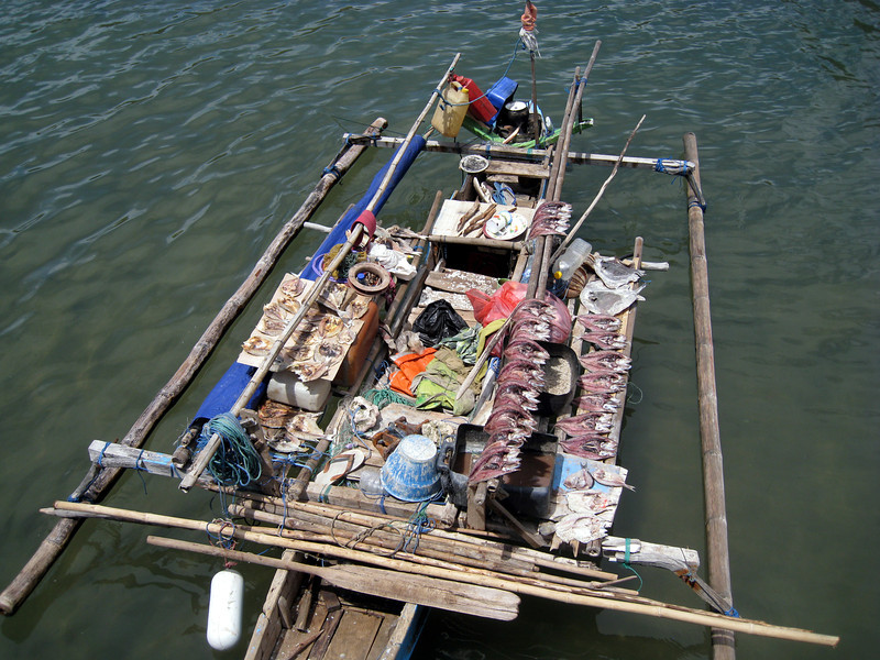 Fishing provides a significant number of jobs on Bali.