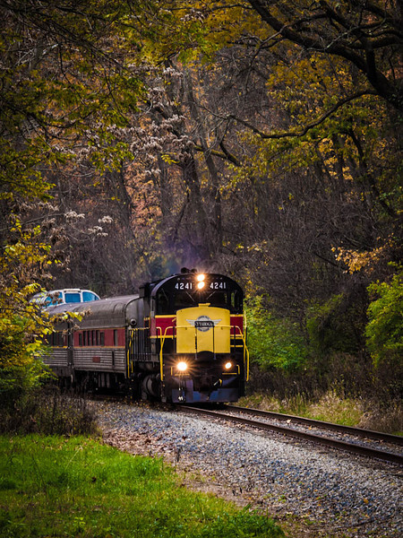 Cuyahoga Vally Railroad in the fall 2013