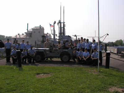Cadets At  U.S.S. LING