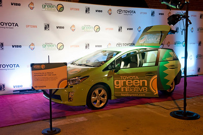 Toyota Green Initiative Party hosted by Lance Gross with Vibe\Uptown Magazine CIAA 2011 3-3-11 by Jon Strayhorn