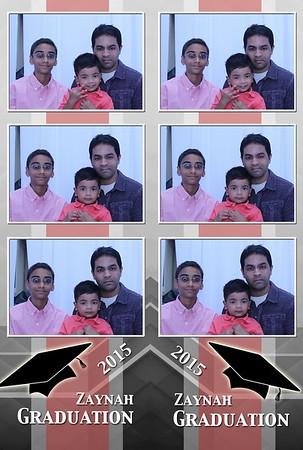 Zaynah Graduation Party