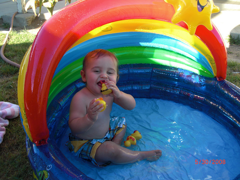 My first pool and first time playing in a pool. The date is wrong, it was 6/30/2008