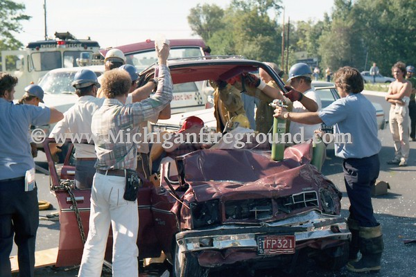 09/1978 - Meridian Twp extrication, Grand River & Campus Hill