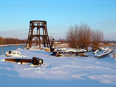 Winter mills - winter molens