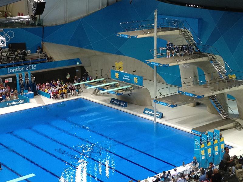 Day 7 - Diving at the Aquatics Center