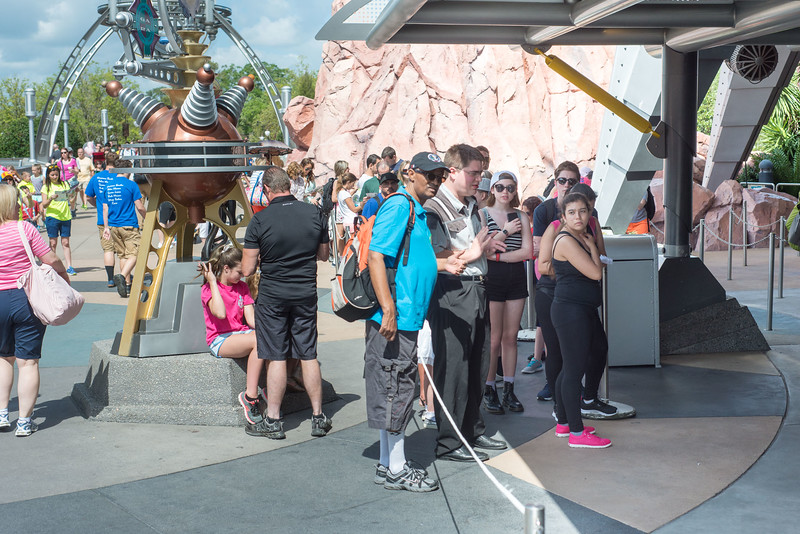 FP+ Kiosk Tomorrowland Queue - Magic Kingdom Walt Disney World