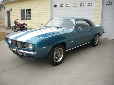 1969 Chevrolet Camaro Z 28 - Jerry MacNeish Certified - For Sale 208-755-3334