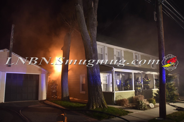 Seaford F.D. House Fire  2171 Jackson Avenue 3-20-18