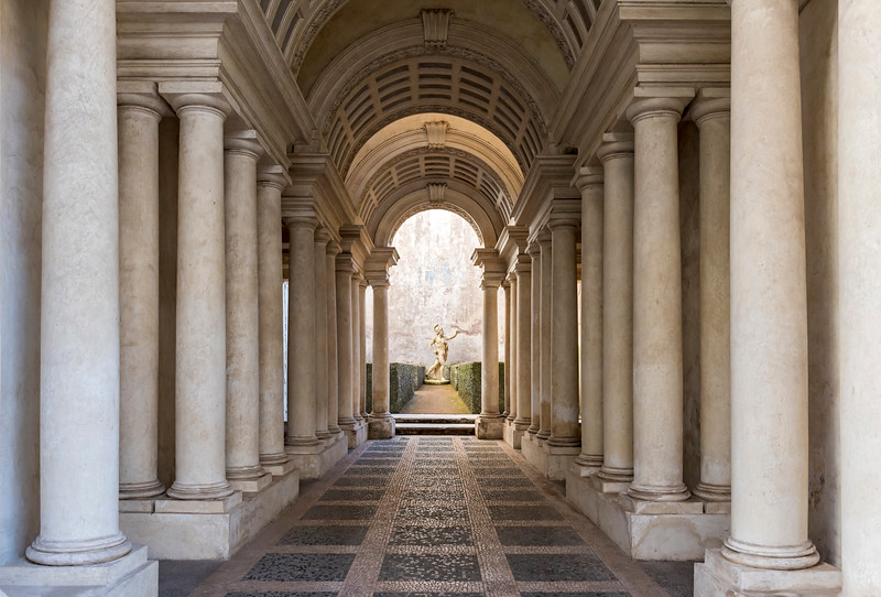 Borromini's Perspective, Rome