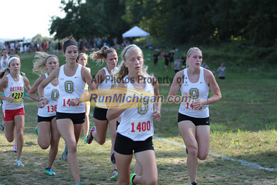 1st Loop College Women - 2013 Golden Grizzly XC Invite