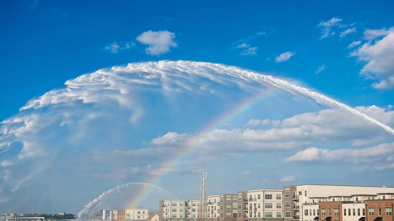 The Rainbow over Water Street...