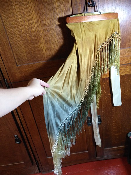 Silk fairy shawl/hipscarf- Best offer for set