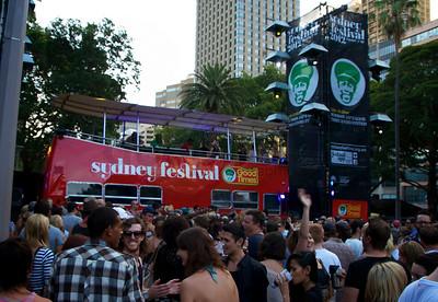 Sydney Festival 1st Night
