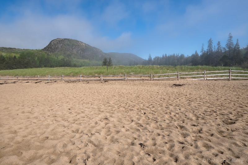 behind Sand Beach