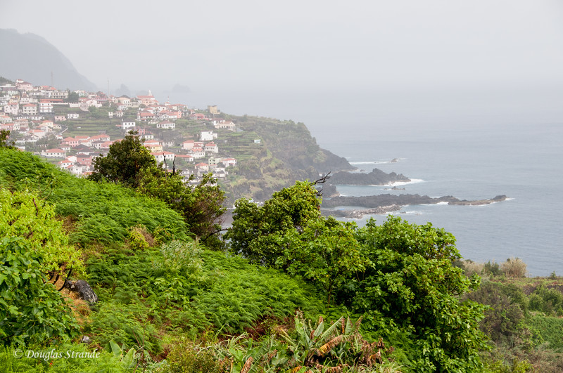 Island of Madeira - Northwest coast shrouded in fog