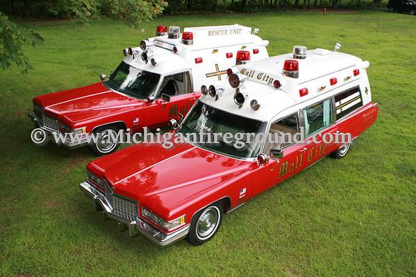 8/14/11 - Great Lakes Burn Camp escort