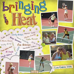 Heatstroke Tennis