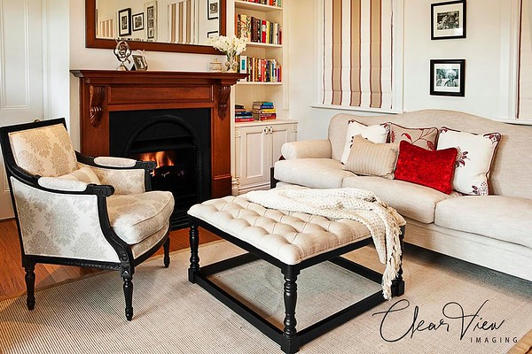 Interior designer with a classic eye for detail.