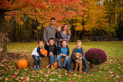 Baeb Family Fall Portraits 2019