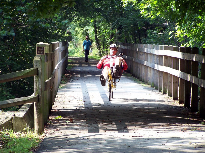 Recumbent Cyclist