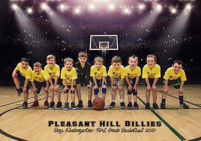 Pleasant Hill Billies Boys 1st Grade