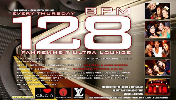 Louie Vuitton & Sonny Nguyen Presents 128 BPM @ Fahrenheit Ultra Lounge 7.26.07