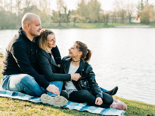 Familienfotos am Eisweiher _ Frühling 2019