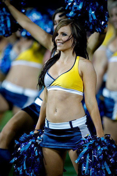 02 August 2008 Townsville, Qld - North Queensland Cowboys HotSquad perform - Photo: Cameron Laird (Ph: 0418 238811)