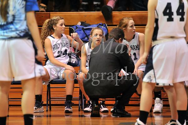 Holy Name VS Wyomissing Girls Basketball 2010 - 2011