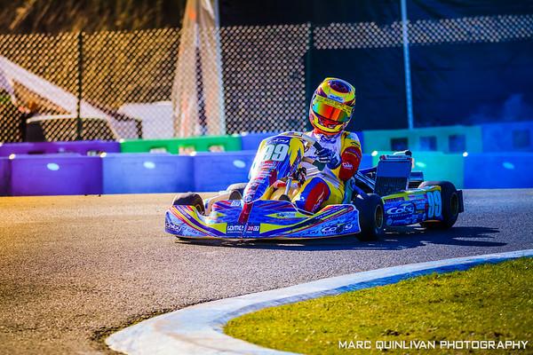 Motorsport Ireland Karting Championship 2018 - Round 1 - Whiteriver
