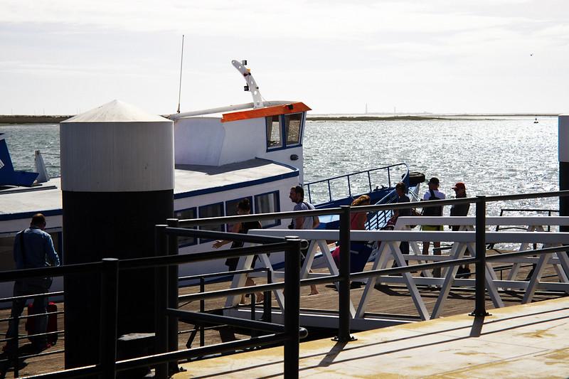 Místní vodní MHD aneb náš trajekt na ostrov