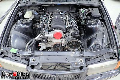 Jack Giffin's RHD BMW E36 LSx Swap