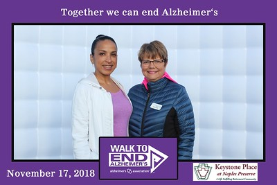 Alzheimer Walk 2018