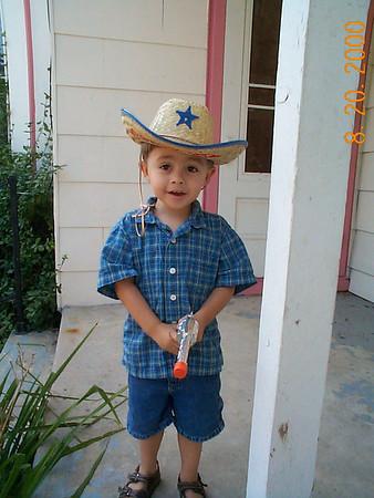 Tyler's 3rd Birthday - August 20, 2000