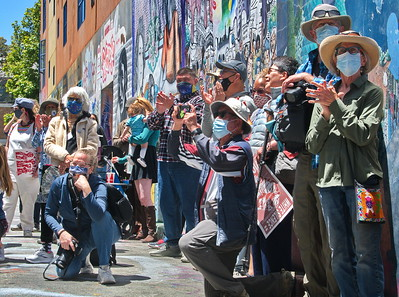 06Jun2021 San Francisco:  Climate Action Mural Unveiling & Celebration