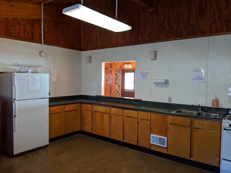 The Lakeside Center Kitchen