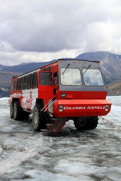 Columbia Icefield Glacier Adventure 2009