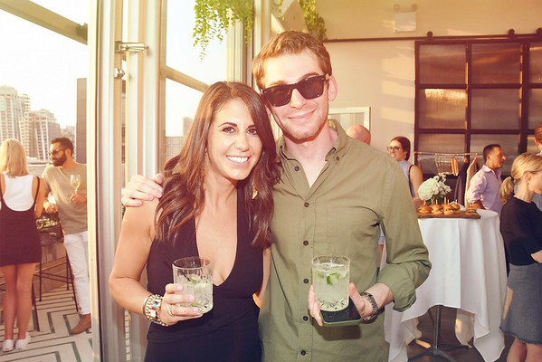 Michelle Kleger's 30th birthday party celebration at the Gansevoort Hotel Rooftop
