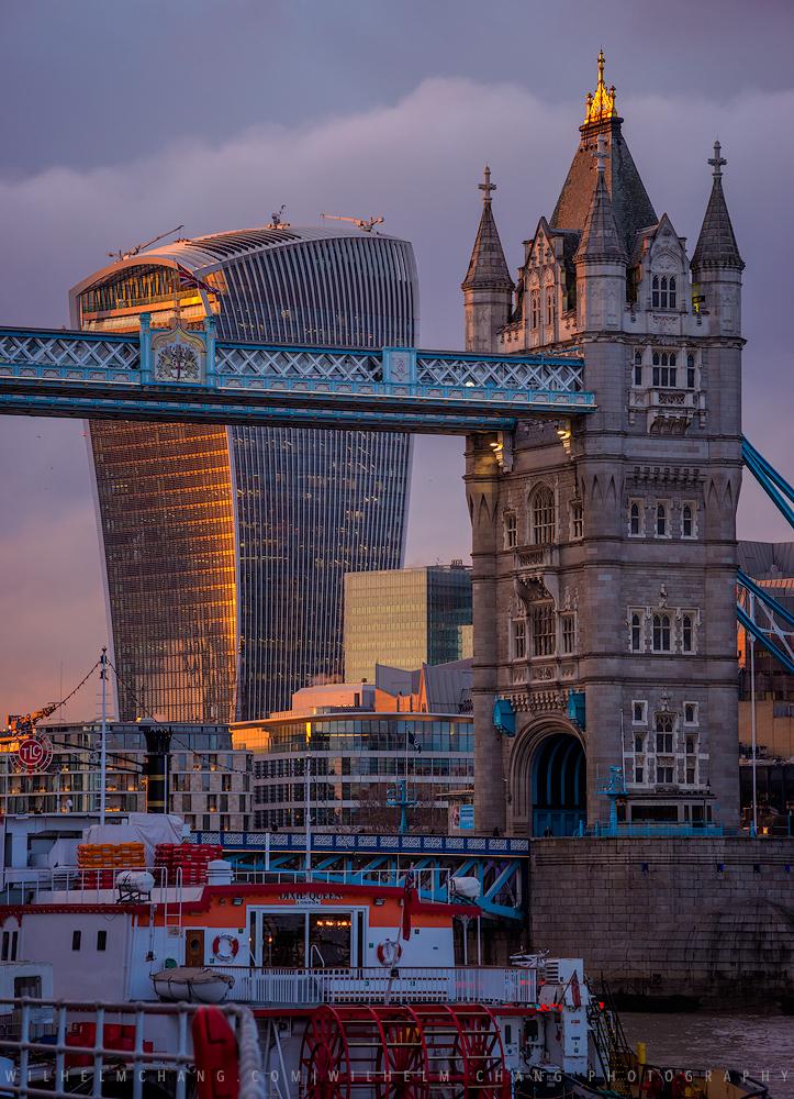 到倫敦攝影 追逐夕陽 -塔橋 Chasing Sunset -Tower Bridge by 旅行攝影師張威廉