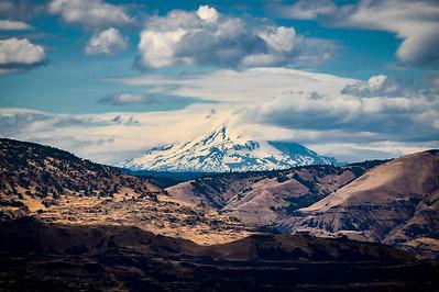 Mt. Hood Looking South
