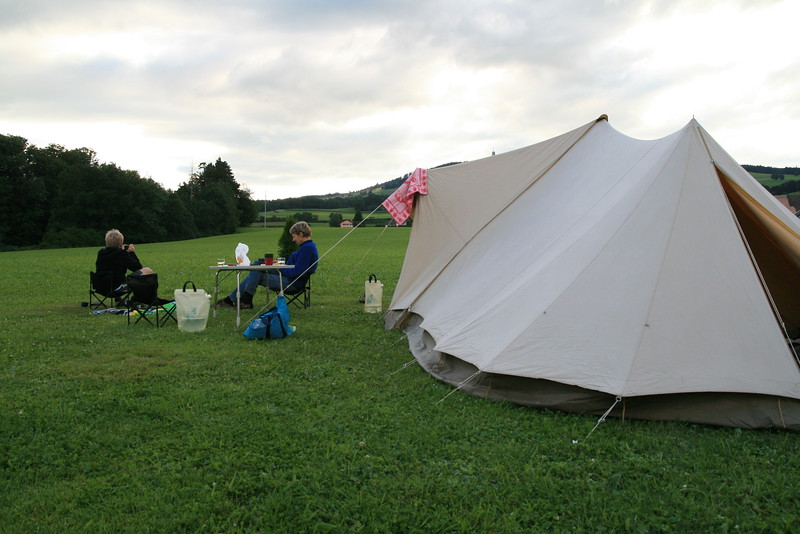 Camping du Lac in Gumefens