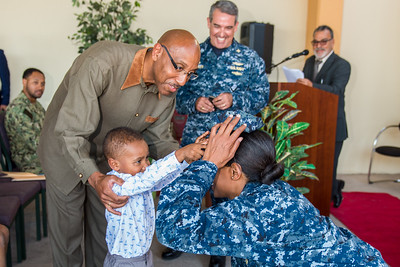 Capt P. Dozier Pinning Ceremony