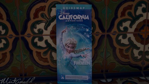 Disneyland Resort, Disney California Adventure, Frozen, Guide Map