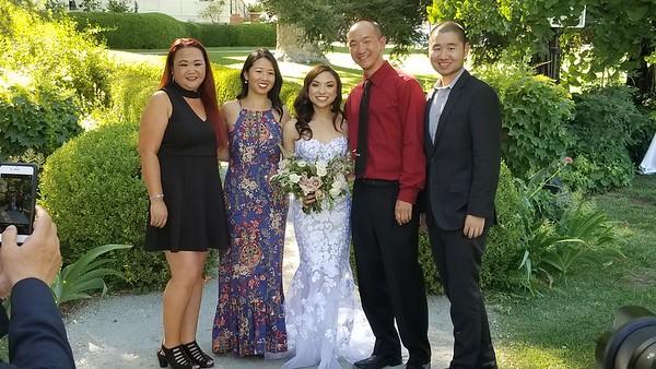 Danielle & Sam wedding 6/23/18